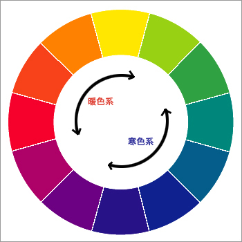 12-colors-暖寒色