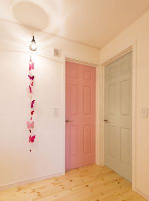 坂本建築設計事務所_S様邸_No.278_Nancy'sBlushes_No.236_TERESA'S GREEN_ドア