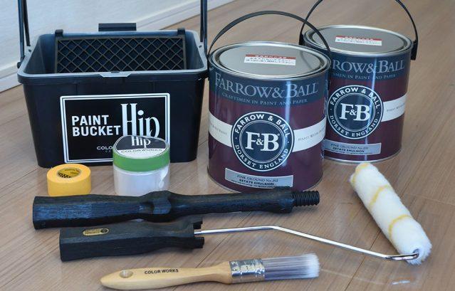 塗料とペイントツール