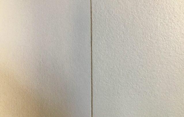 FARROW&BALL(左)エステートエマルションと(右)モダンエマルションの違い