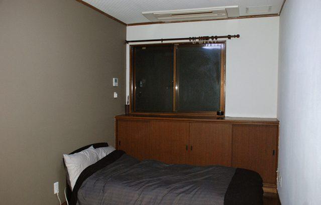 年末大掃除_ヤニの上からペイント_綺麗になった部屋