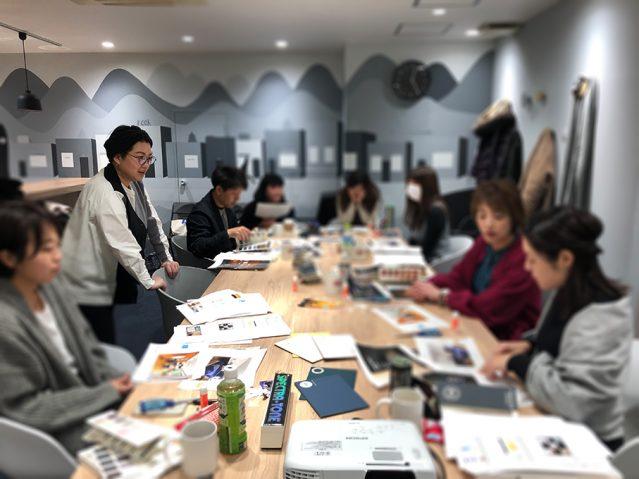 日本カラーマイスター協会_インテリアカラー特別コース_講座風景