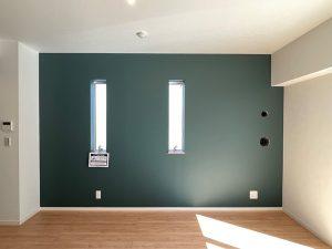 Farrow&Ball_No.289 Inchyra Blue_リビング_apartment56-1F