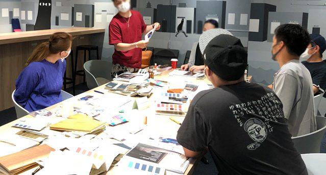 日本カラーマイスター協会 講座の様子