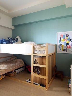 子供部屋にもぴったり!穏やかさや安心感を感じさせるブルー