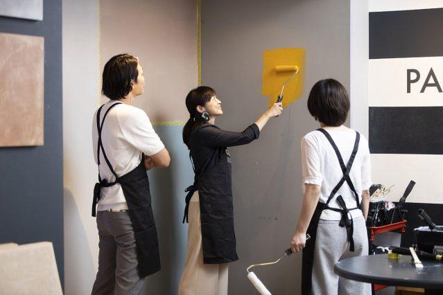 少人数制で色選びから塗装のコツまで教えてくれるペイントレッスン